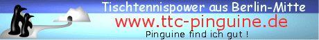 Homepage eines kleinen aber traditionsreichen Tischtennis Vereins aus Berlin-Mitte mit Vereinsüberblick, News, Gästebuch, Forum, Mannschaftsübersichten und Ergebnissen